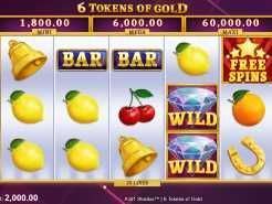 6 Tokens of Gold Slots